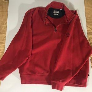 Red Callaway Fleece 1/4 Zip Pullover (#1006)